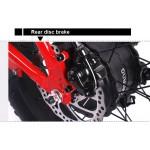 Bobos Fat Bike Σπαστό 500W  36v Μπαταρία 10,4 Ah LG