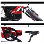 Bobos+  Ηλεκτρικο ποδηλατο Fat Bike Σπαστό 250/800W  36v Μπαταρία 13 Ah LG
