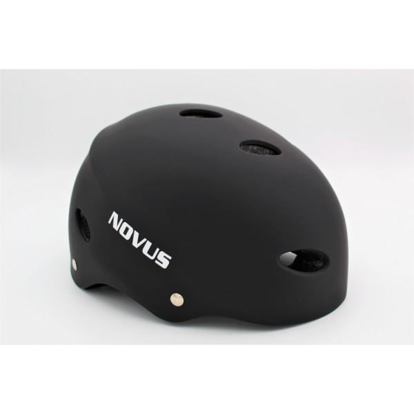 Κράνος NOVUS για πατίνι Μαύρο