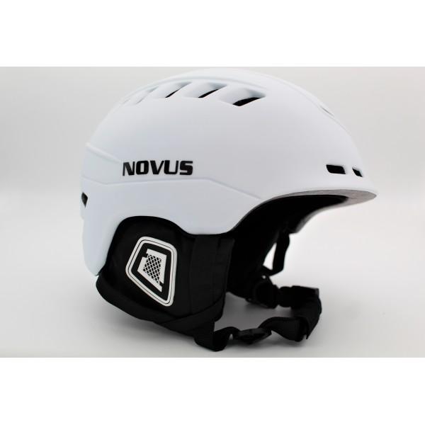 Κράνος NOVUS Λευκό  για πατίνια με προστασία